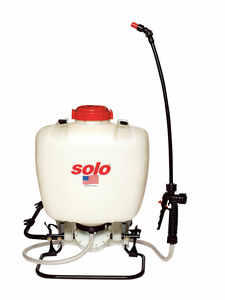 BACKPACK SPRAYER 4 GAL. 60 PSI HDPE by Solo