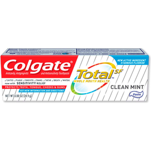 TOTAL TOOTHPASTE, COOLMINT, 0.88 OZ, 24 TUBES/CASE by Palmolive