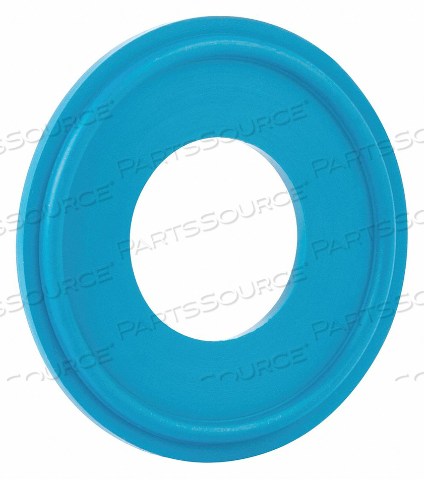 SANITARY GASKET 1IN TRI-CLAMP FKM by Rubberfab