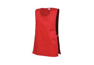UNISEX APRON COBBLER L BURGUNDY by Fashion Seal