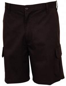 MEN'S CARGO SHORTS 44 BLACK by Fashion Seal