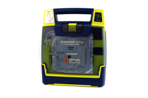 FULLY AUTOMATIC DEFIBRILLATOR, 12.4 IN X 3.3 IN X 10.6 IN, 3.1 KG by Cardiac Science / Powerheart (Opto Cardiac Care Limited)