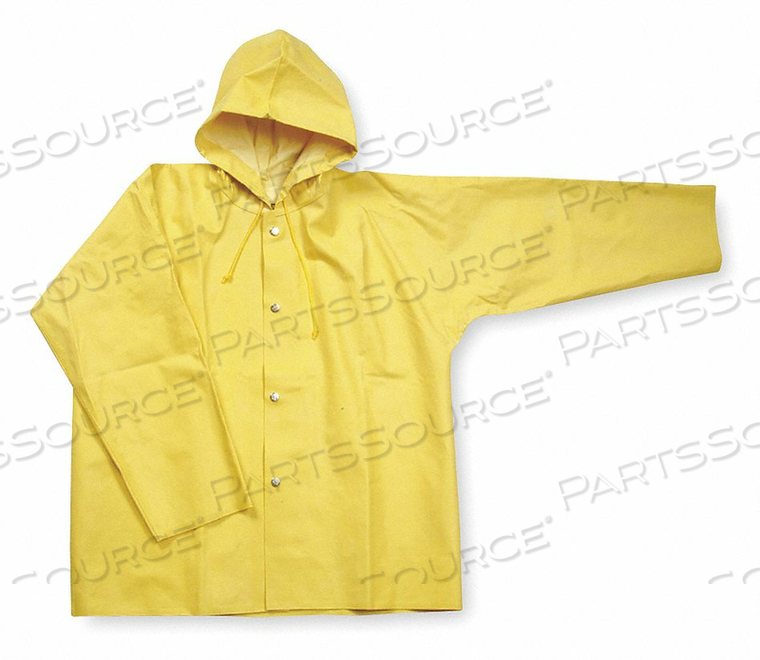 D2313 RAIN JACKET UNRATED YELLOW L by Condor