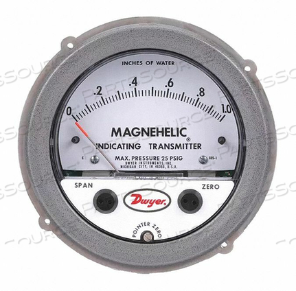 MAGMOHELIC INDICATING TR by Dwyer Instruments