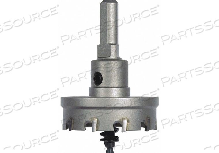 CARBIDE HOLE CUTTER 1-3/8IN HOLE 3/16IND by Morse