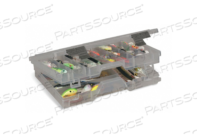 COMPARTMENT BOX OUTSIDE 2-3/4 H PLASTIC by Plano Molding