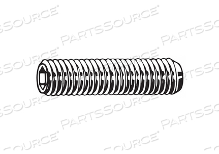 SET SCREW CUP 40MM L STEEL PK2200 by Fabory