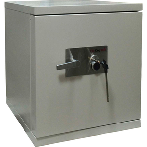 """DATA SAFE , 1-HOUR FIRE RATING 21-1/2""""W X 22-2/5""""D X 25-1/2""""H LIGHT GRAY by Fire King"""