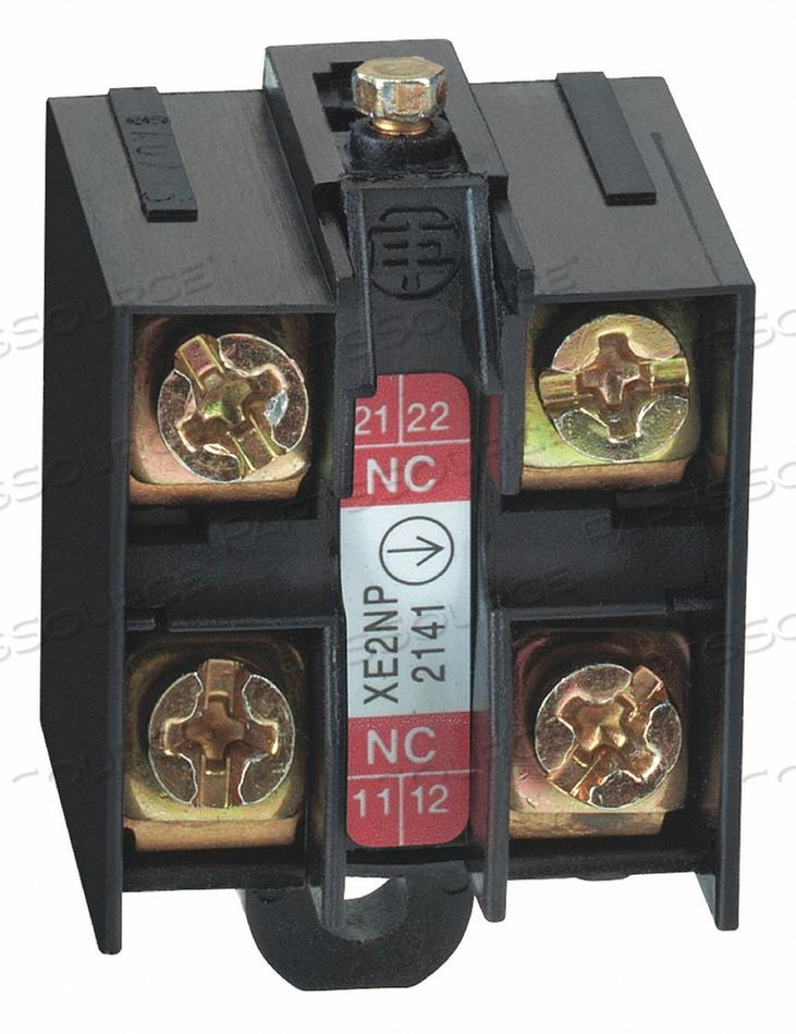 LMT SWITCH 2 CONTACT BLOCK 240VAC 3A XE2 by Telemecanique Sensors