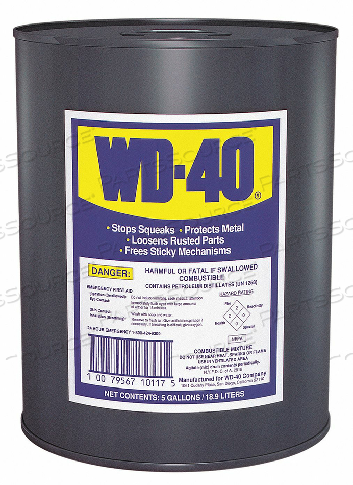5 GAL. PAIL LUBRICANT by WD-40
