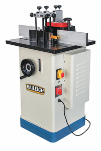 HEAVY DUTY SPINDLE SHAPER 220V 1 PHASE by Baileigh Industrial