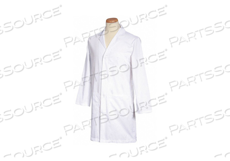 LAB COAT WHITE 40-3/4 IN L by Fashion Seal