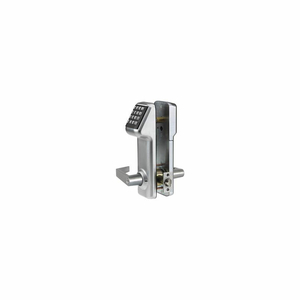 ACCESS CYLINDRICAL LOCK SCHLAGE C KEYWAY 160 CODES, SATIN CHROME by Marks USA