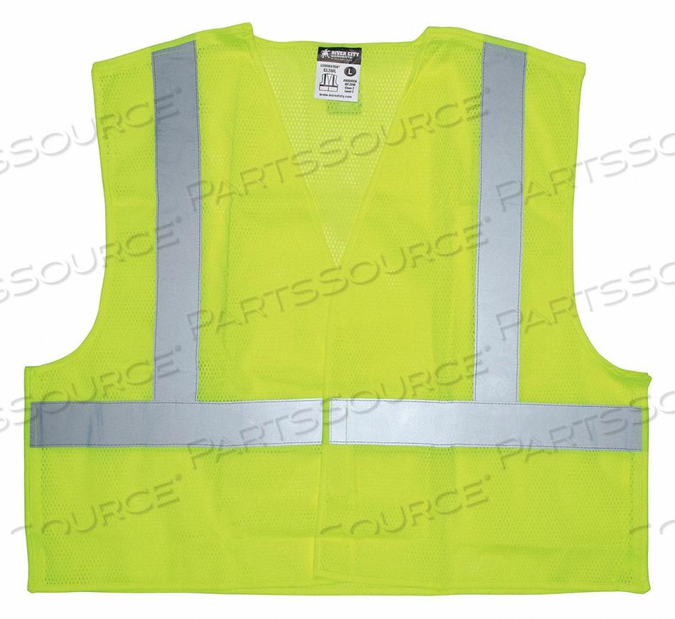 TEAR AWAY SAFETY VEST 3X by MCR Safety