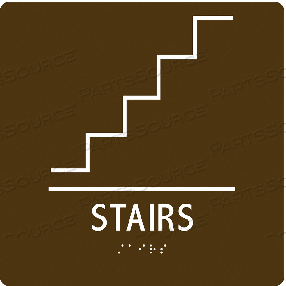 SAFETY SIGN STAIRWAY 8 X8 by Condor