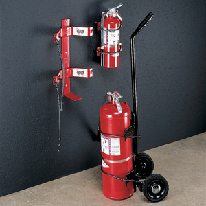 FIRE EXTINGUISHER BRACKET 30 LB. by Amerex