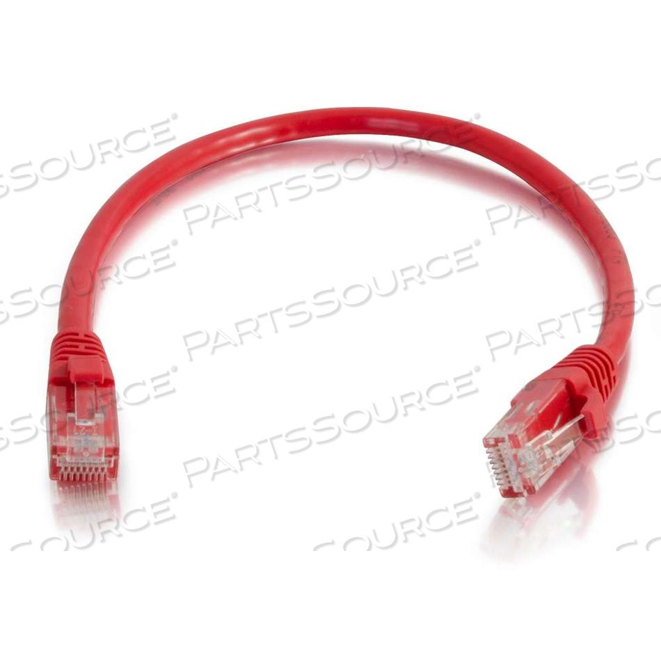 9FT CAT5E SNAGLESS UTP CABLE-RED by Legrand AV (C2G)