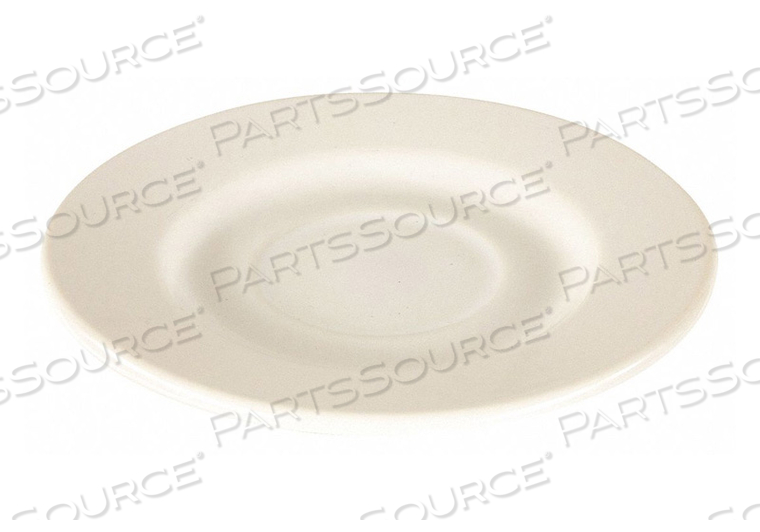 SAUCER 4-3/8 IN. BRIGHT WHITE PK36 by Crestware