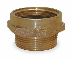 FIRE HOSE ADAPTER 1-1/2 NPSH 1-1/2 NH by Moon American