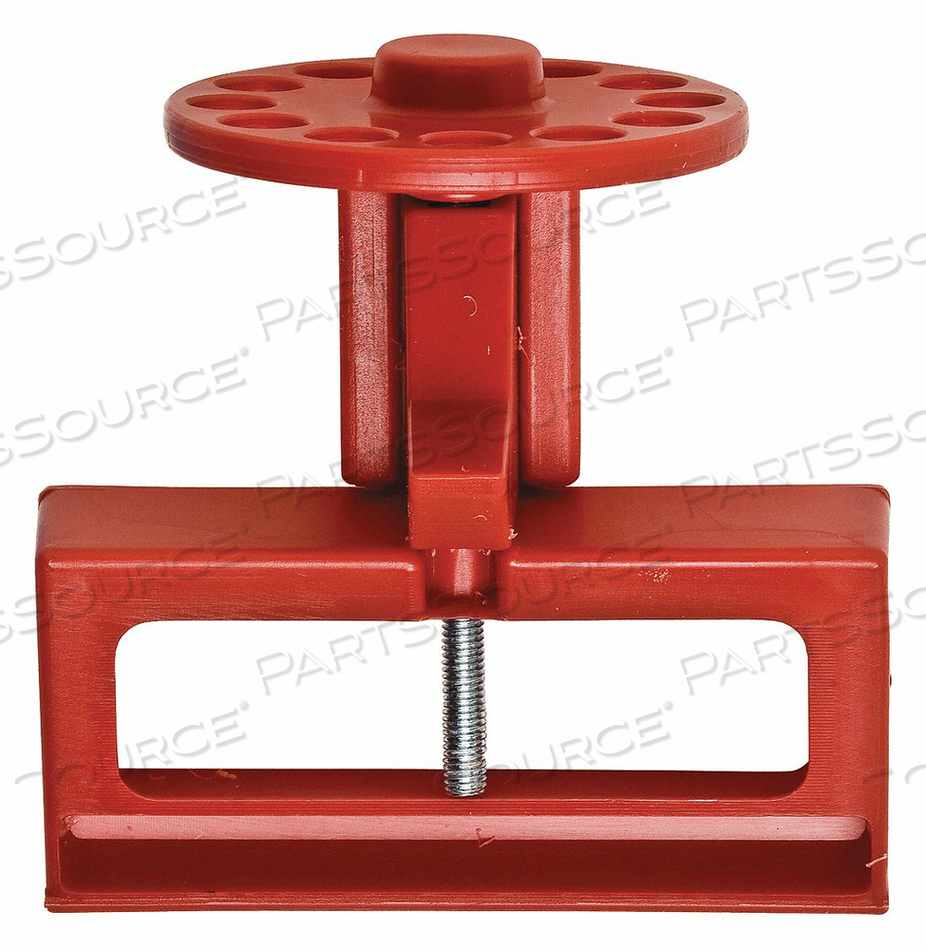 CIRCUIT BREAKER LOCKOUT RED 2-1/2 H by Condor