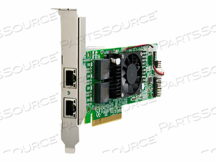 THECUS C10GI540T2 - NETWORK ADAPTER - PCIE 2.0 X8 LOW PROFILE - 10GB ETHERNET X 2