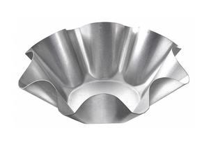 TORTILLA SHELL PAN 9-1/8 IN GLAZED STEEL by Chicago Metallic