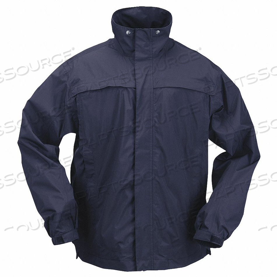 RAIN JACKET UNRATED BLUE L by 5.11 Tactical