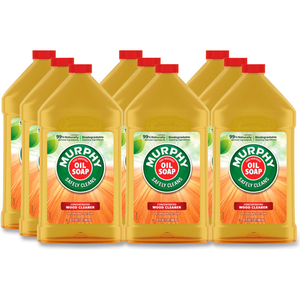 MURPHY OIL SOAP ORIGINAL WOOD CLEANER, FRESH, 32 OZ. BOTTLE, 9 BOTTLES - 01163 by Palmolive