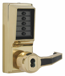 PUSH BUTTON LOCKSET 8000 LEFT LEVER by Kaba