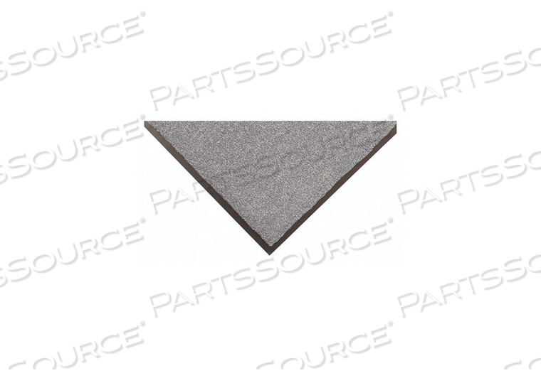 H6180 CARPETED ENTRANCE MAT SLATE GRAY 2FTX3FT by Condor