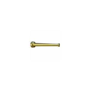 FIRE HOSE PLAIN HOSE NOZZLE - 1-1/2 IN. NH - BRASS by Moon American