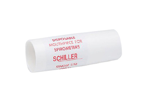 DISPOSABLE MOUTHPIECES, PLASTIC, WHITE by Schiller America