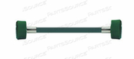 HOSE ASSEMBLY, 2 FT, USA, OXYGEN, DISS HANDTIGHT - DISS HANDTIGHT, CONDUCTIVE 1/4 by Amvex (Ohio Medical, LLC)
