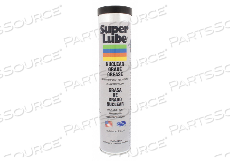 NUCLEAR GRADE GREASE CARTRIDGE 14.1 OZ. by Super Lube