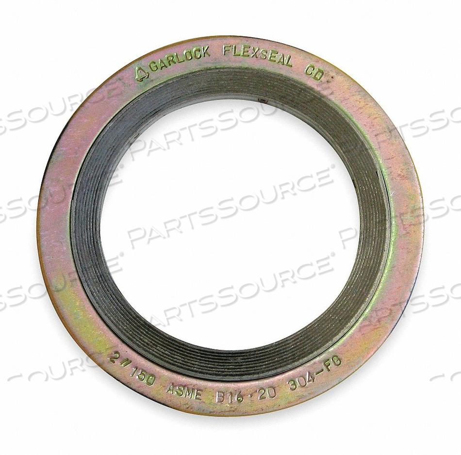 GASKET RING 8 IN METAL YELLOW by Garlock Sealing Technologies