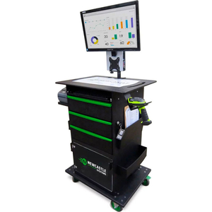 QC SERIES MOBILE POWERED WORKSTATION, SMALL POWER PACKAGE, 100AH BATTERY by New Castle Systems