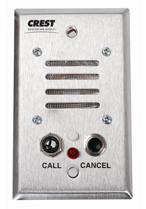 PATIENT STATION, 2-WAY INTERCOM by Crest Healthcare