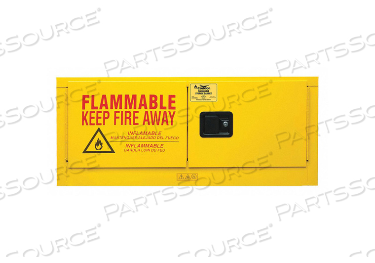 FLAMMABLE LIQUID SAFETY CABINET 18-1/8IN by Condor