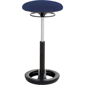 """TWIXT ACTIVE SEATING STOOL - 22-32""""H - BLUE by Safco"""
