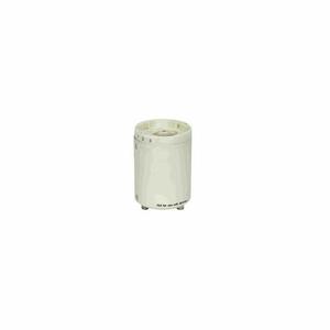 SMOOTH PHENOLIC CFL LAMPHOLDER G24Q-3 - GX24Q-3 60HZ 0.30A 26W-277V by Satco