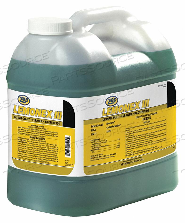 CLEANER/DISINFECTANT 2.5 GAL JUG LIQUID by Zep