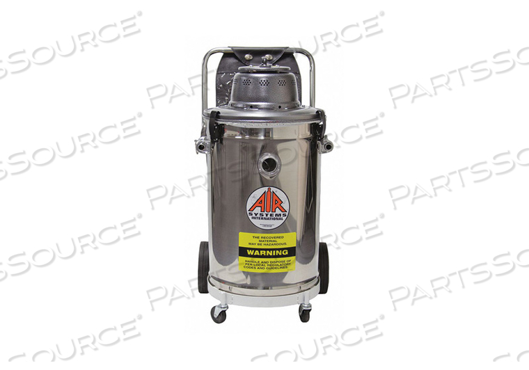 VACCUUM STEEL CAN ELECTRIC MOTOR by Air Systems International
