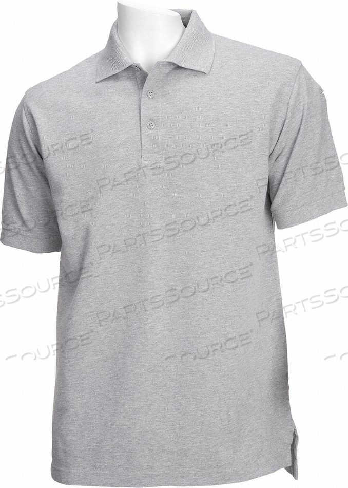 D4693 PROFESSIONAL POLO HEATHER GRAY S by 5.11 Tactical