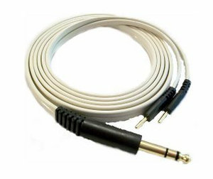 """120"""" ELECTROTHERAPY Y LEAD STEREO LEAD WIRE - BLACK by Dynatronics"""