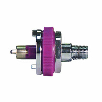 ADAPTER, WAGD, 1/8 IN MNPT, PURPLE by Amvex (Ohio Medical, LLC)