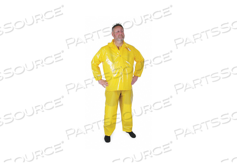 D2293 RAIN JACKET UNRATED YELLOW 4XL by Condor