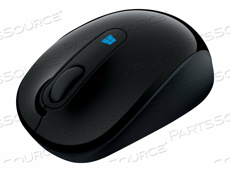 MICROSOFT SCULPT MOBILE MOUSE - MOUSE - OPTICAL - 3 BUTTONS - WIRELESS - 2.4 GHZ - USB WIRELESS RECEIVER - BLACK