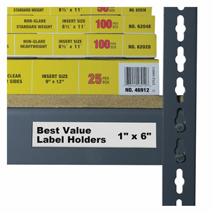 LABEL HOLDER SELF ADHESIVE 1 L PK50 by C-Line