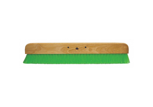 CONCRETE FINISHING BROOM 36 IN L WOOD by Kraft Tool
