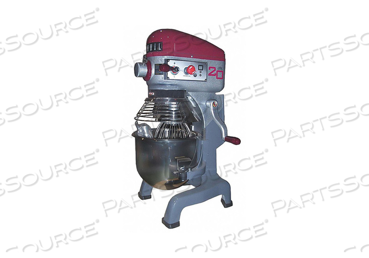 ELECTRIC FOOD MIXER WITH GUARD 20 QUART by Vollrath